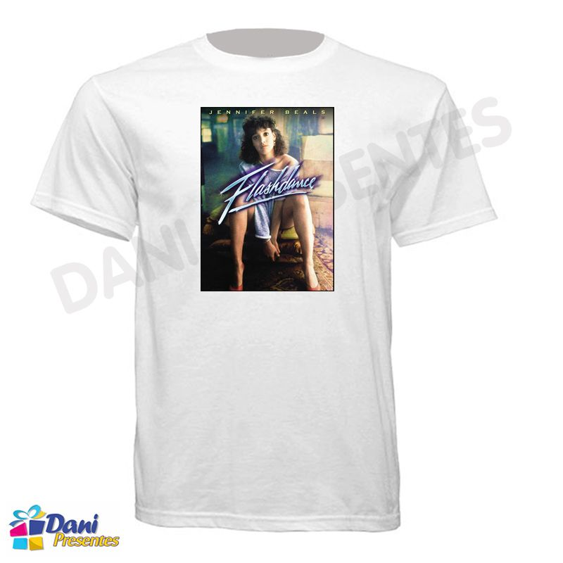 Camiseta Flashdance - Em Ritmo de Embalo