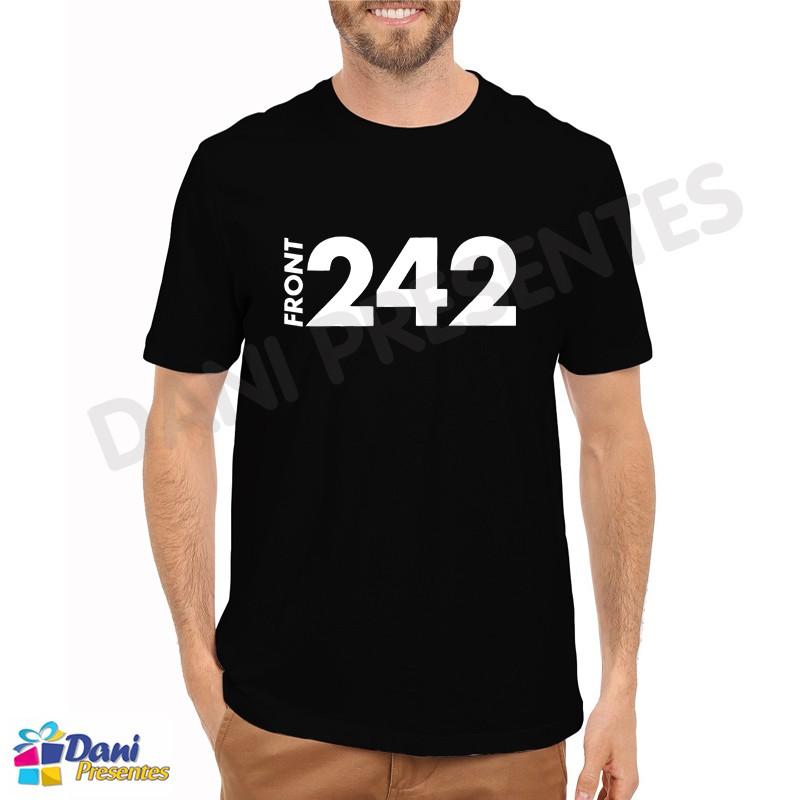 Camiseta Front 242 - Preta