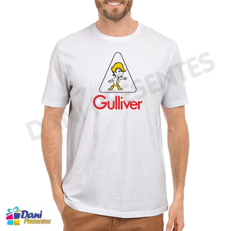 Camiseta Gulliver - Brinquedos Antigos