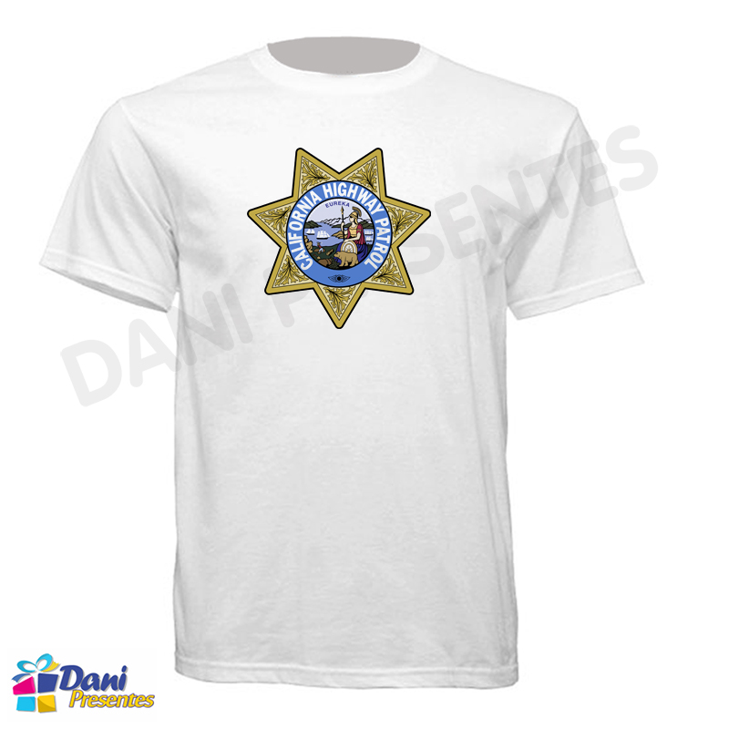 Camiseta ChiPs - California Highway Patrol