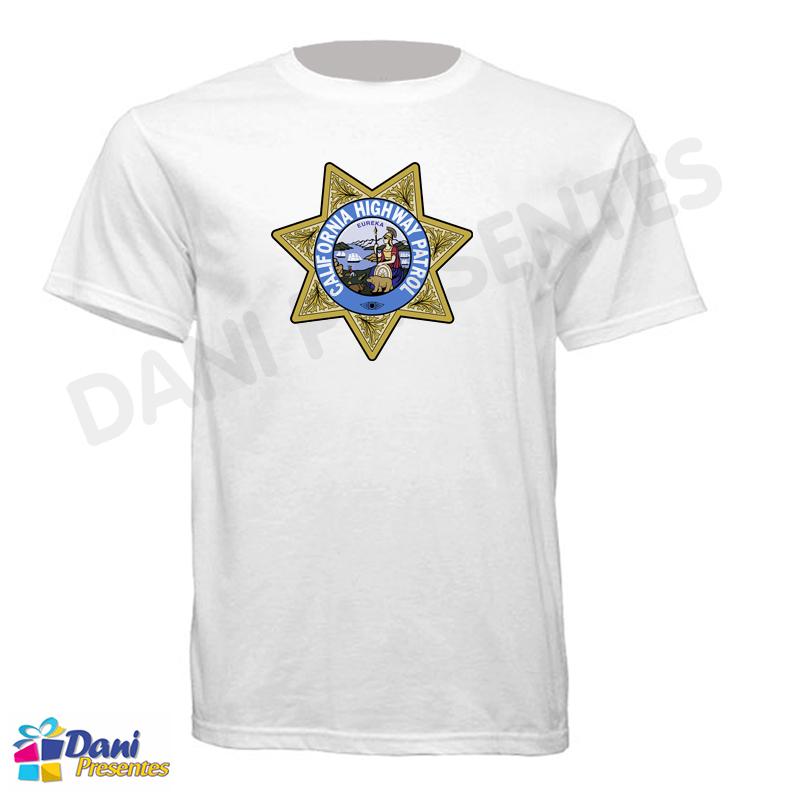 Camiseta ChiPs - California Highway Patrol