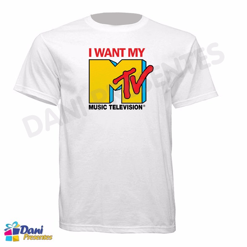 Camiseta I Want My MTV - Music Television
