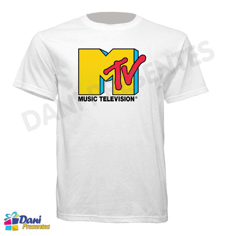 Camiseta MTV - Music Television