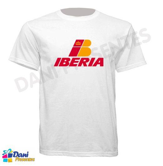 Camiseta Iberia - Aviação Anos 80