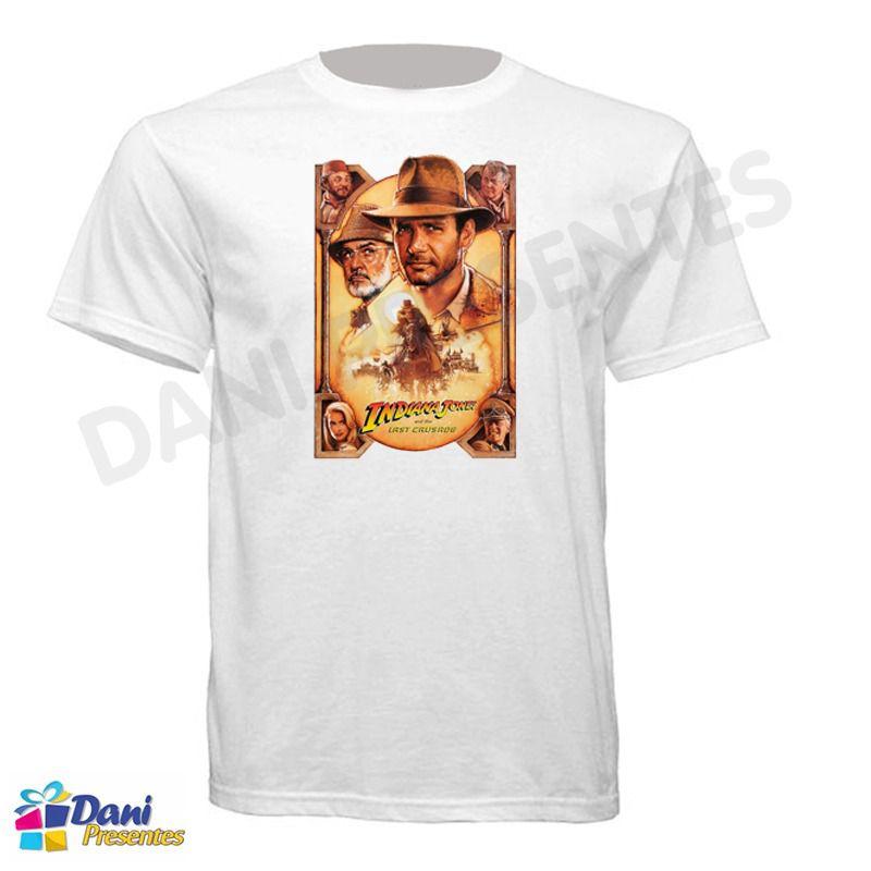 Camiseta Indiana Jones