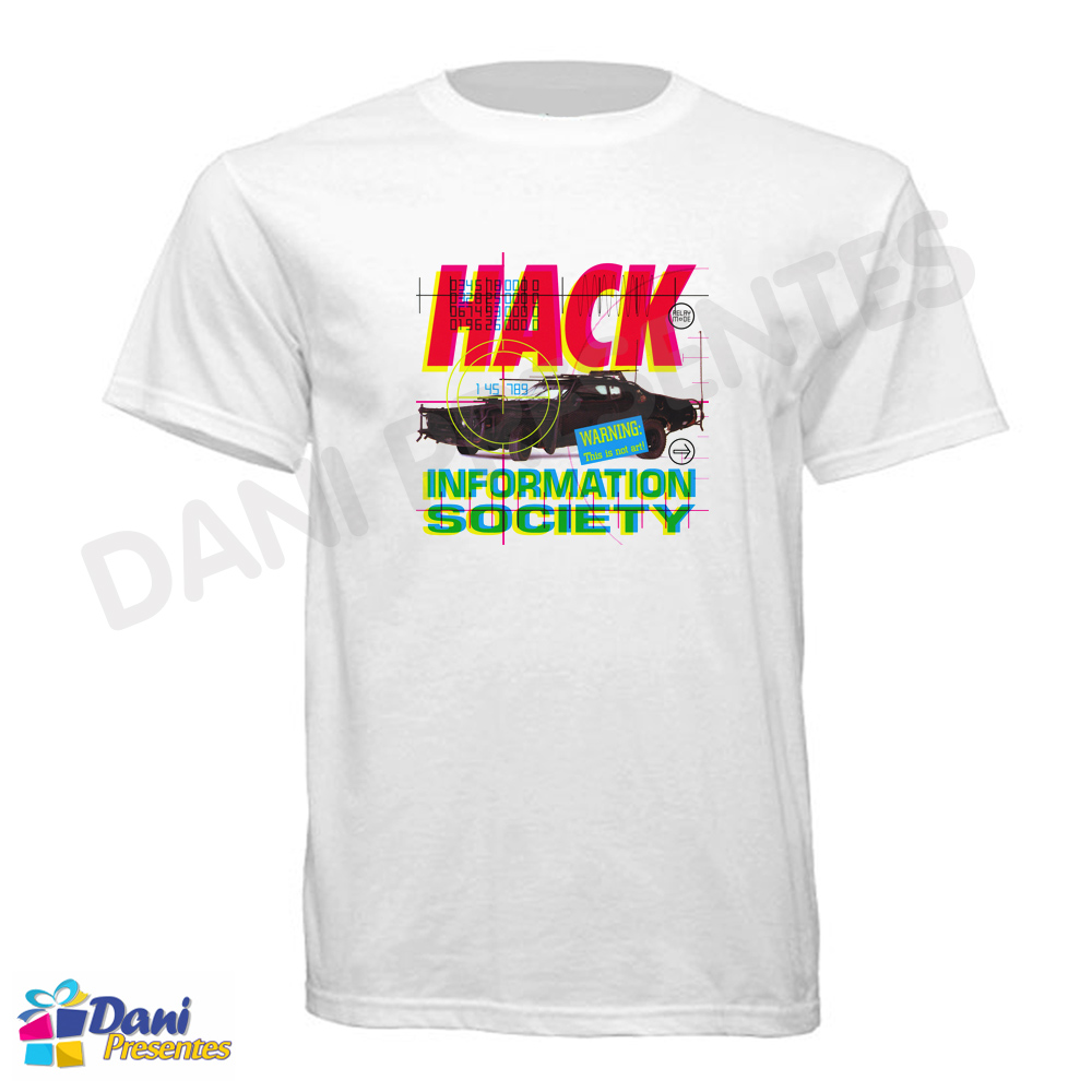 Camiseta Information Society Hack
