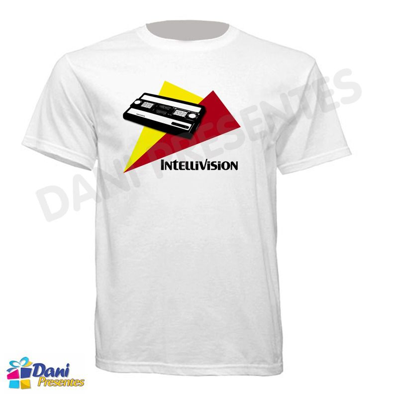 Camiseta Intellivision - Vídeo Game Antigo