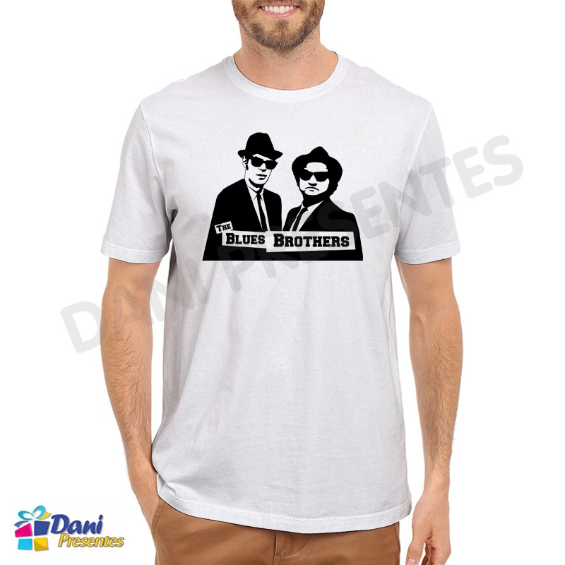 Camiseta Irmãos Cara de Pau - Blues Brothers II