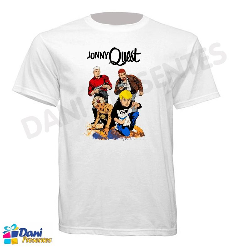 Camiseta Jonny Quest