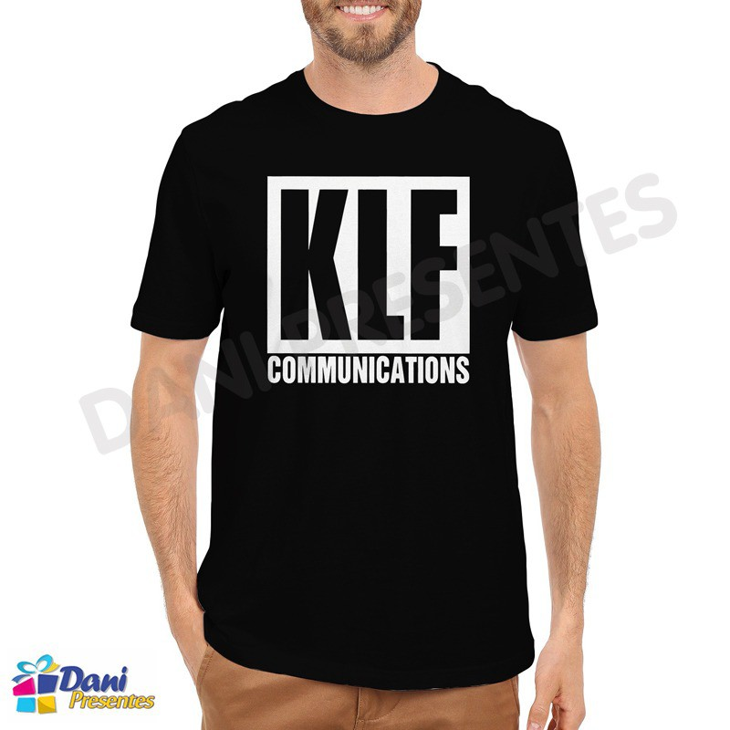 Camiseta KLF Communications - Preta