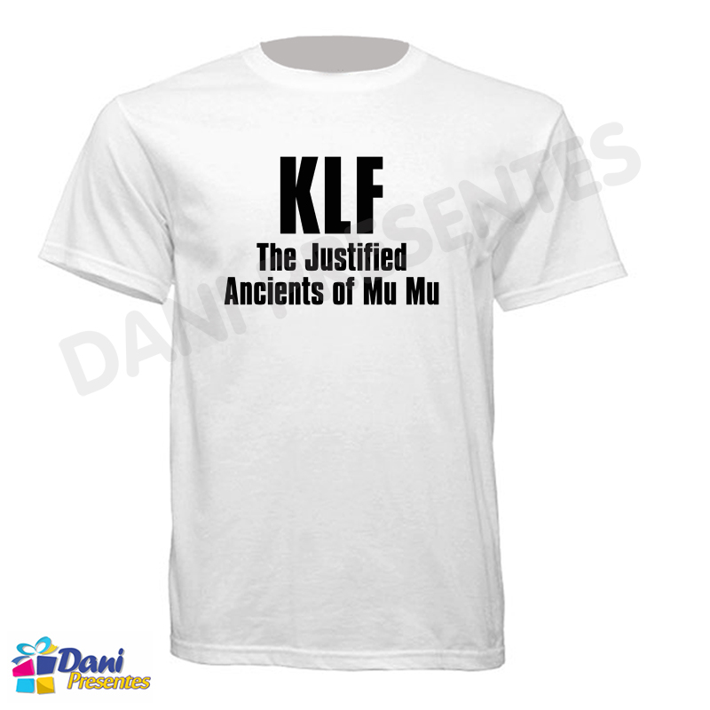 Camiseta KLF The Justified Ancients of Mu Mu