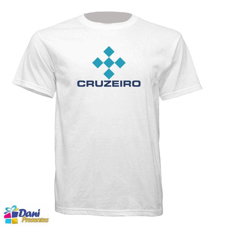 Camiseta Linhas Aéreas Cruzeiro - Aviação