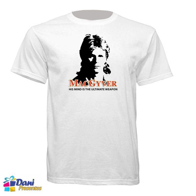 Camiseta MacGyver - Profissão Perigo