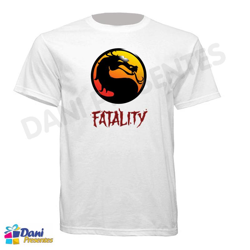 Camiseta Mortal Kombat Fatality