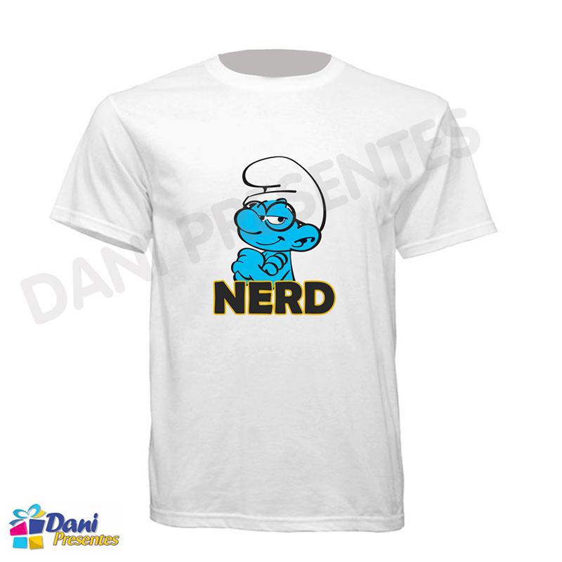 Camiseta Nerd Smurf