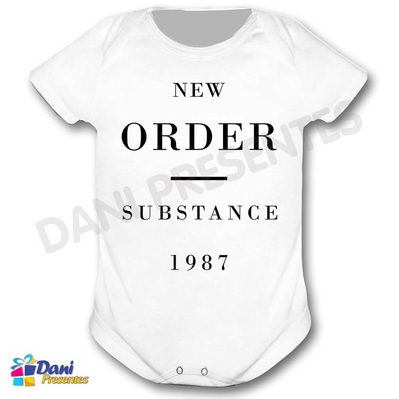 Camiseta New Order - Substance 1987