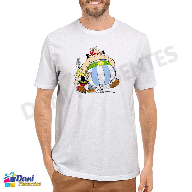 Camiseta Obelix e Asterix