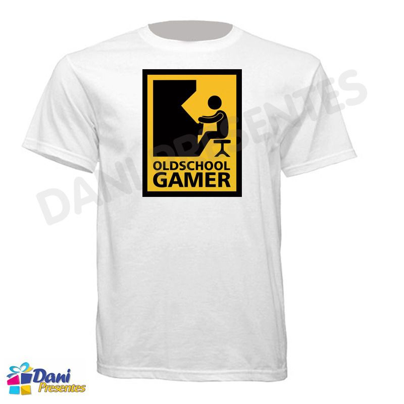 Camiseta OldSchool Gamer