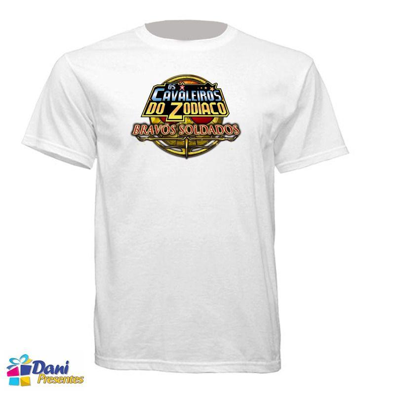Camiseta Os Cavaleiros do Zodíaco - Bravos Soldados