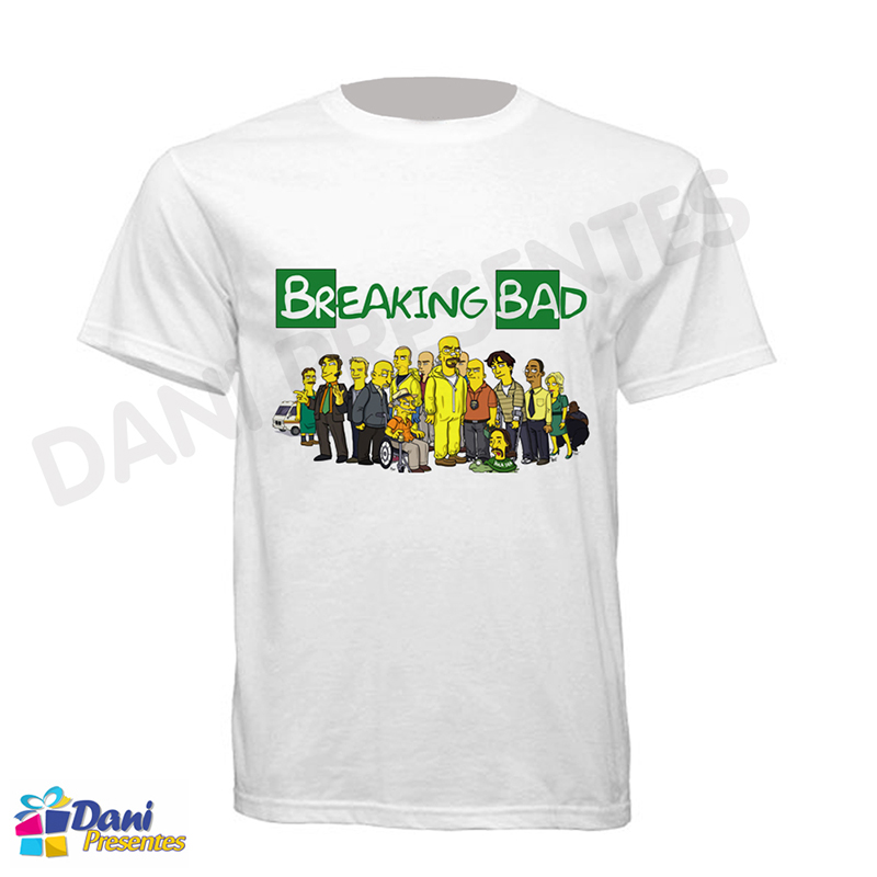Camiseta Os Simpsons em Breaking Bad