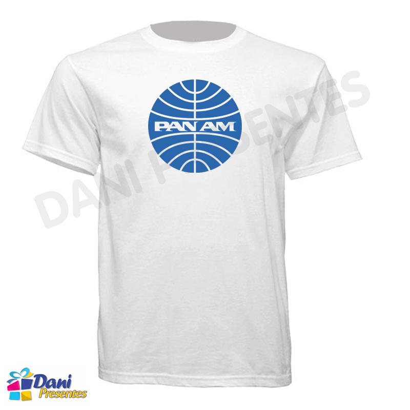 Camiseta PAN AM - Aviação Anos 80