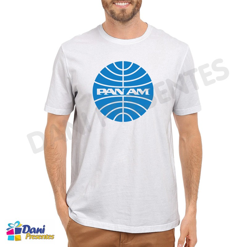 Camiseta Pan Am Aviação - Pan American World Airways