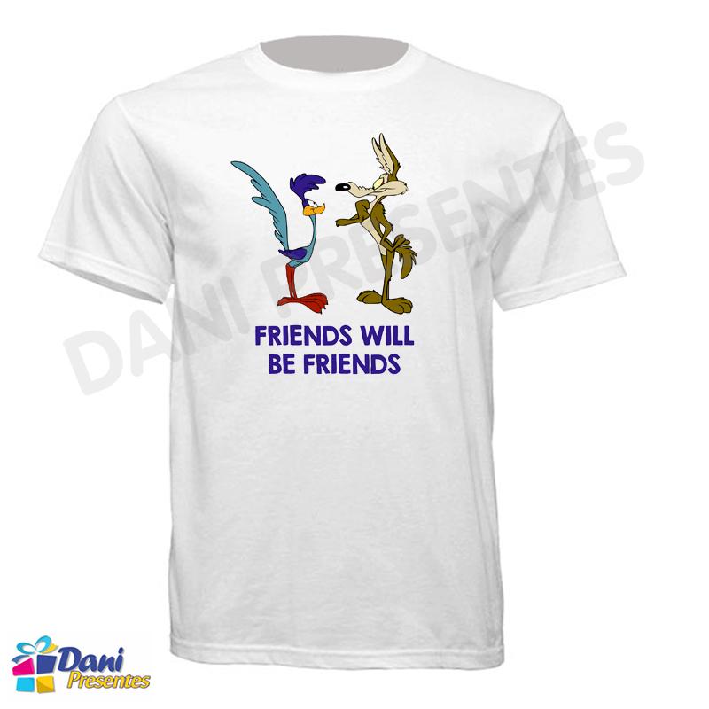 Camiseta PapaLéguas com o Coiote