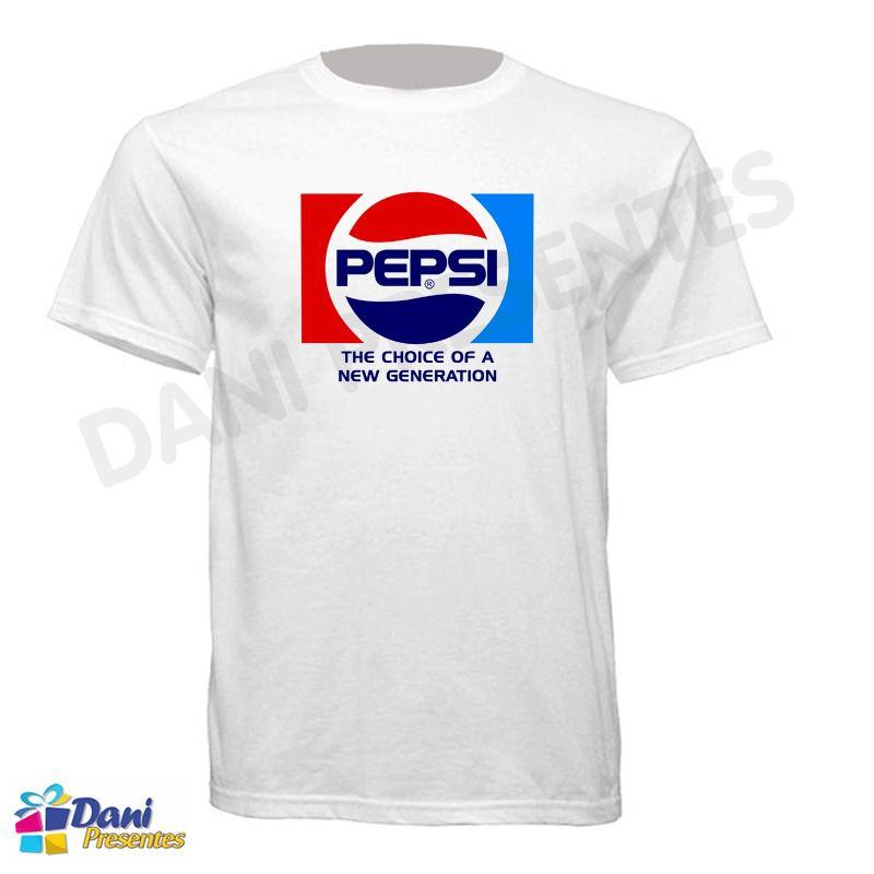 Camiseta Pepsi Cola Refrigerante