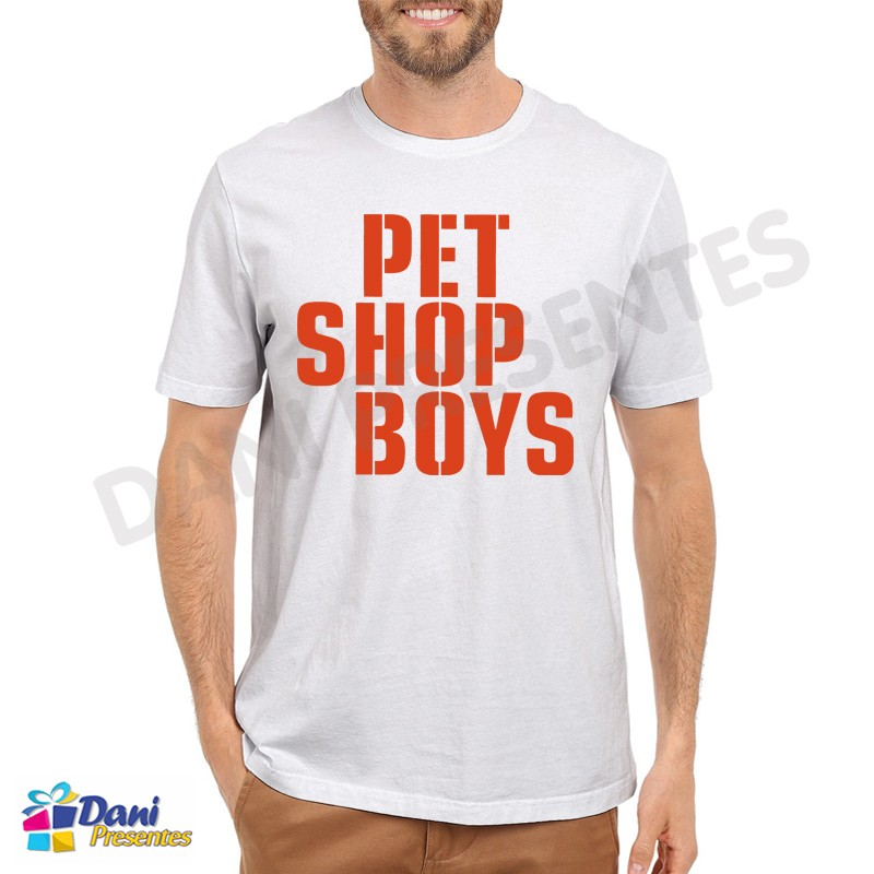 Camiseta Pet Shop Boys