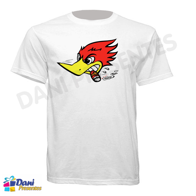 Camiseta Pica-pau Wild