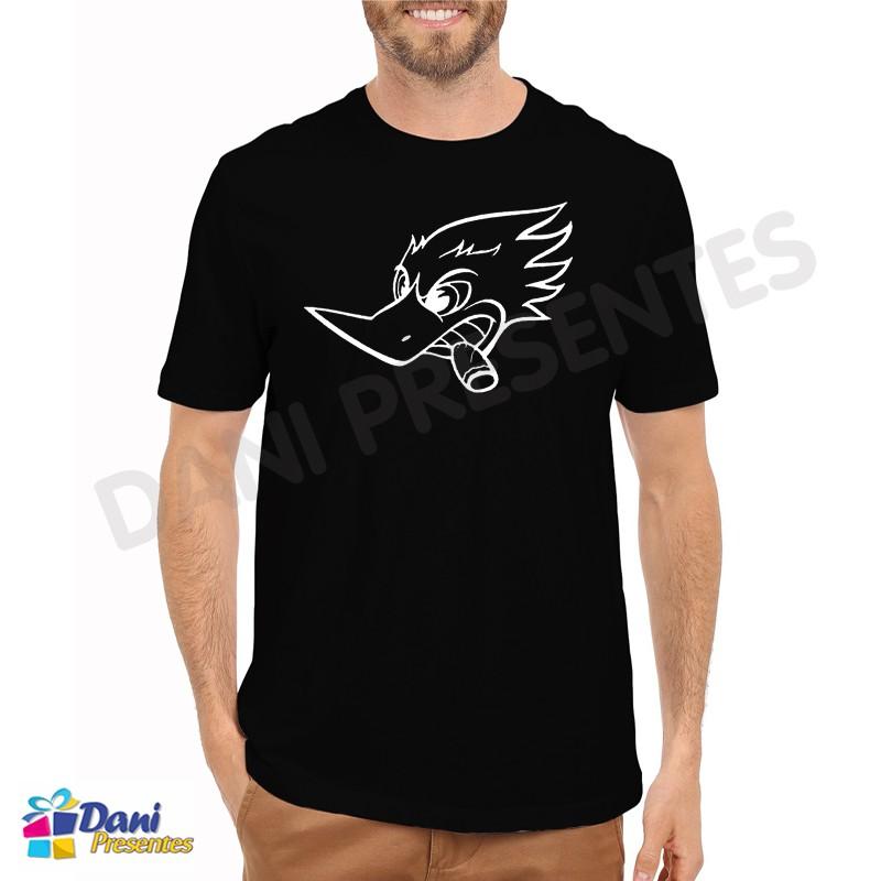 Camiseta Pica-pau Wild - Preta
