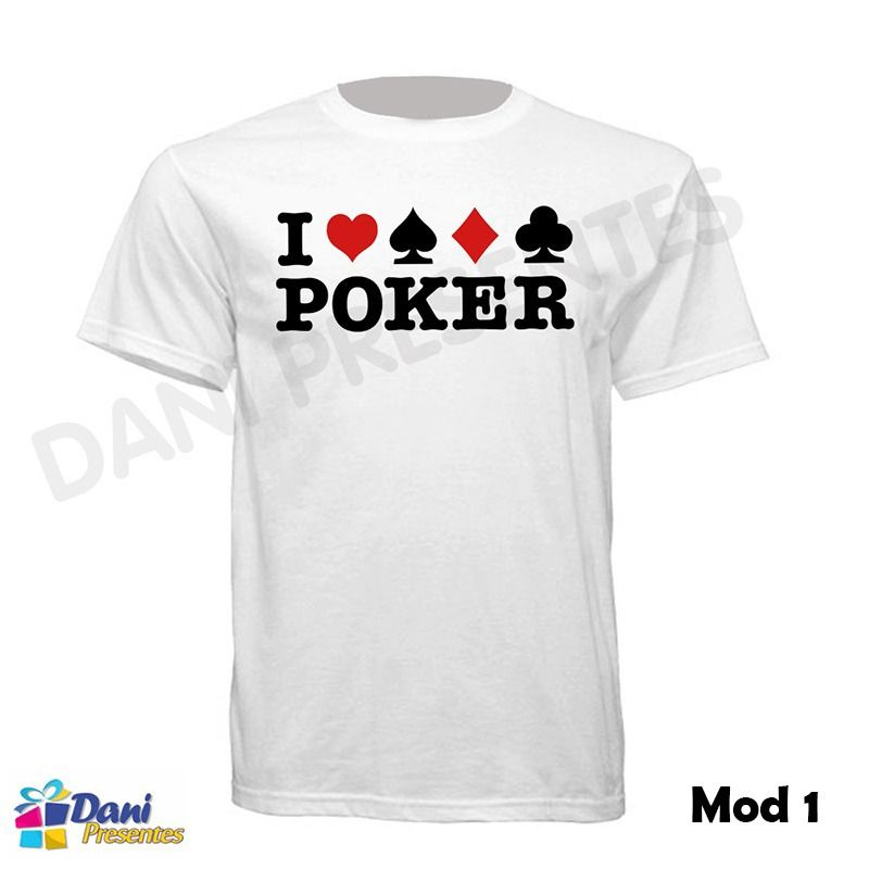 Camiseta Poker Stars