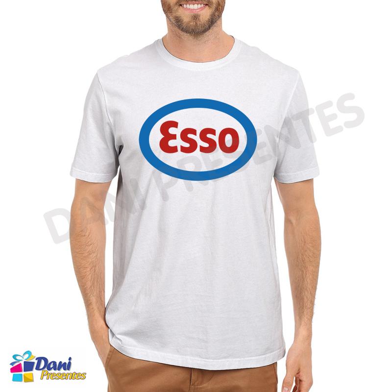 Camiseta Posto de Gasolina Esso