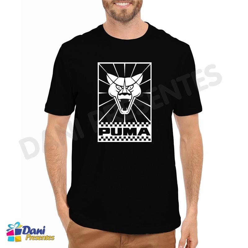 Camiseta Puma Automóveis - Preta