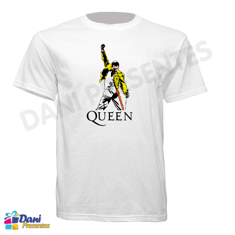 Camiseta Queen - Freddie Mercury
