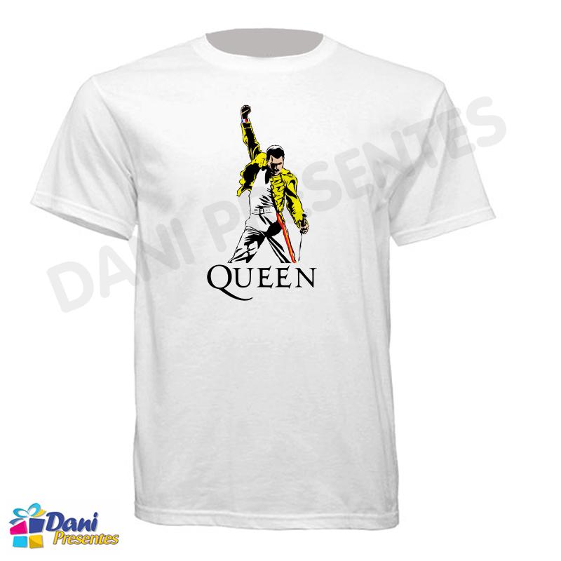 amplia selección de colores y diseños vista previa de precio oficial Camiseta Queen Freddie Mercury - Dani Presentes