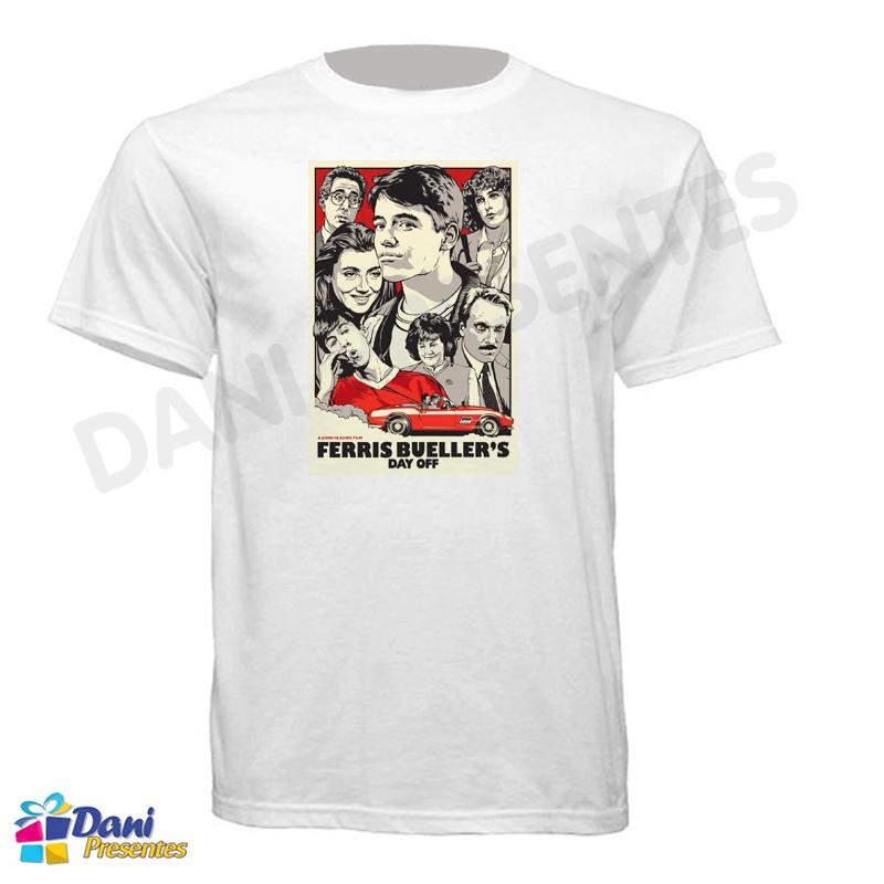 Camiseta Curtindo a Vida Adoidado - Poster Ferris