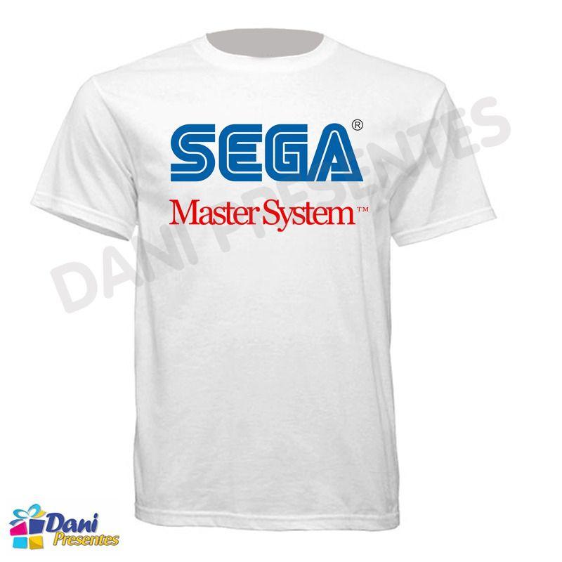 Camiseta Sega Master System