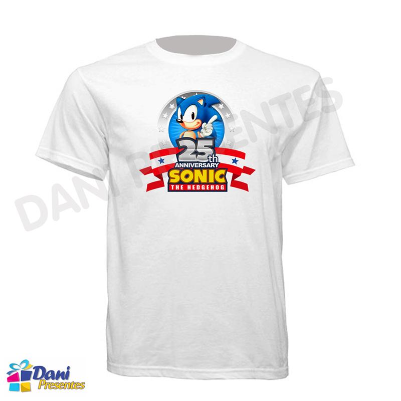 Camiseta Sonic 25 Anos