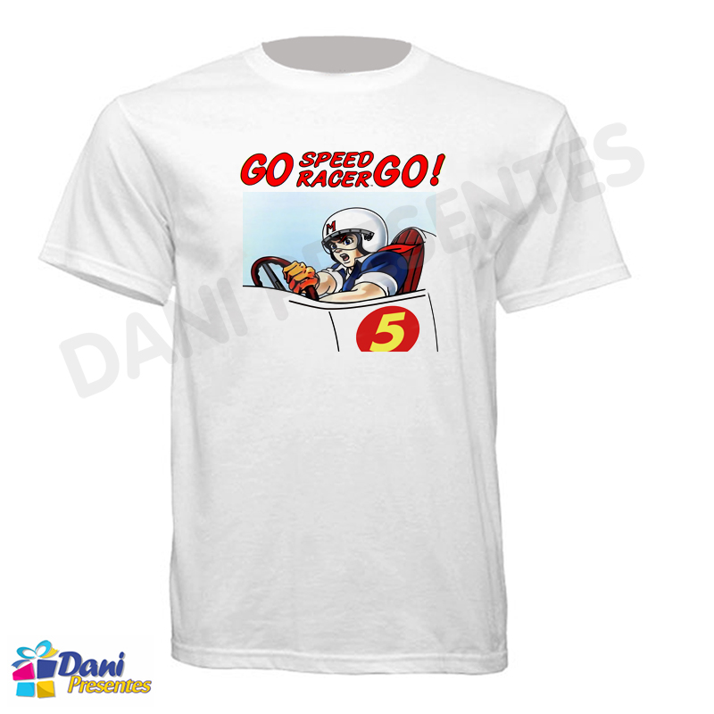 Camiseta Speed Racer GO
