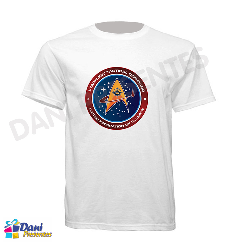 Camiseta Star Trek - United Federation of Planets