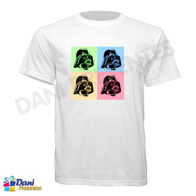 Camiseta Star Wars Darth Vader Color