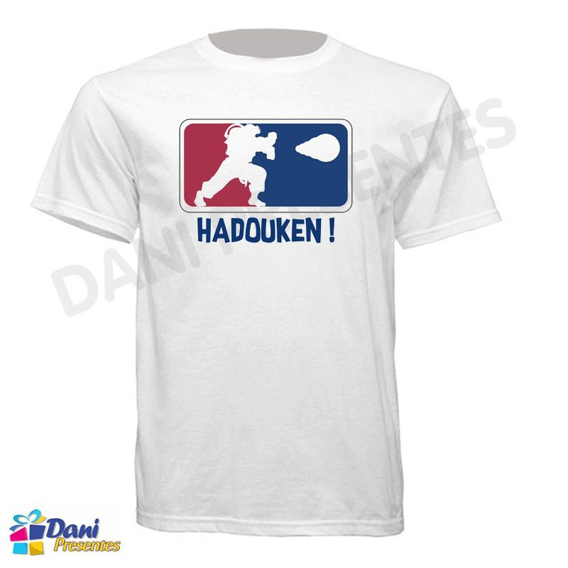 Camiseta Street Fighter Hadouken