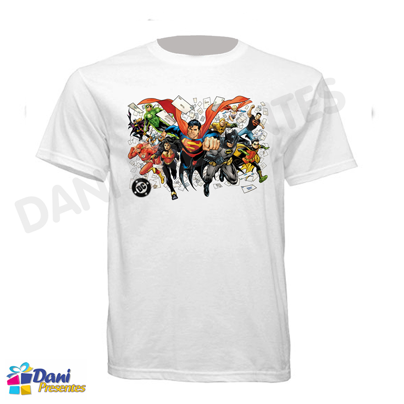Camiseta Super Amigos