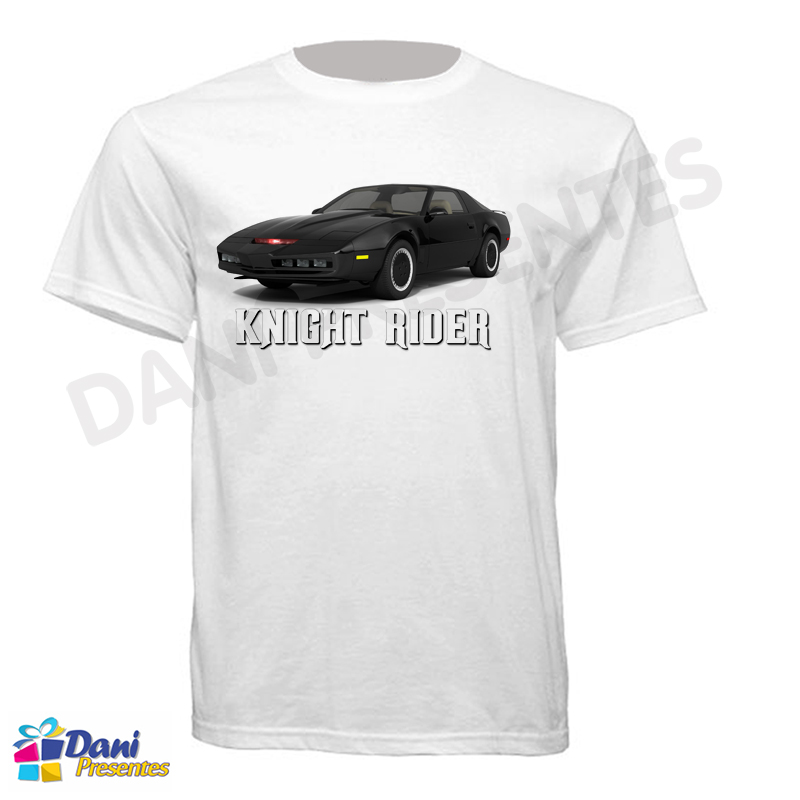 Camiseta Super Máquina Knight Rider