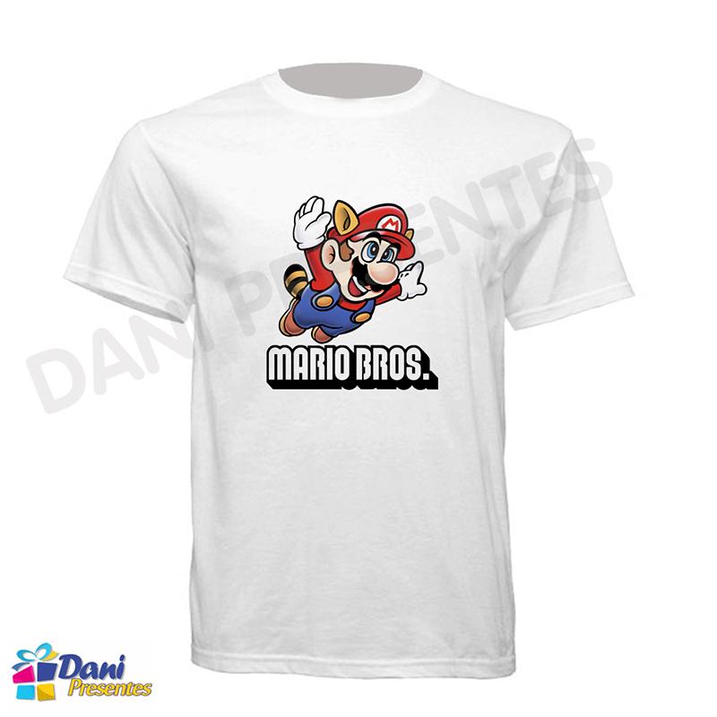 Camiseta Super Mario Bros Clássica