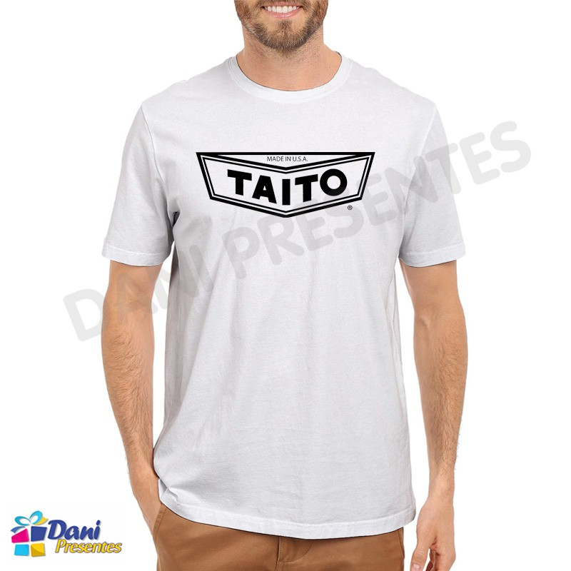 Camiseta Taito - Retrô Game Bc