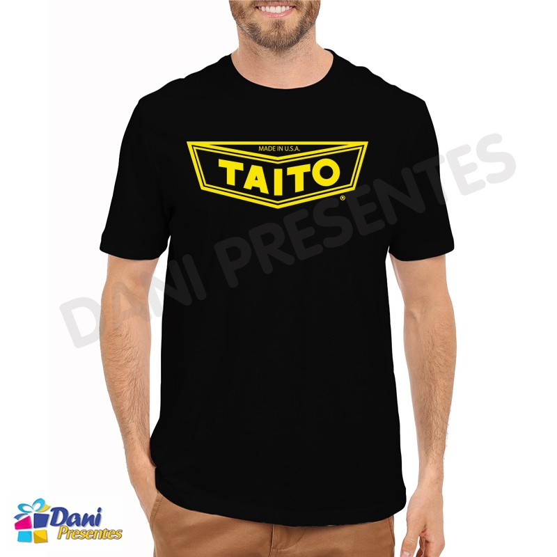 Camiseta Taito - Retrô Game