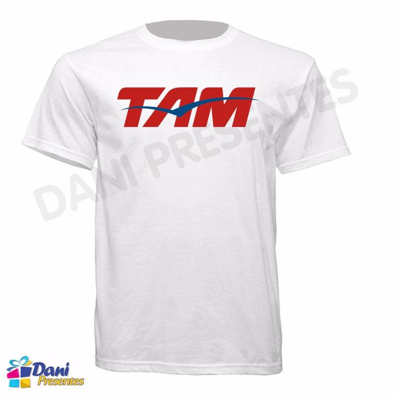 Camiseta TAM - Aviação