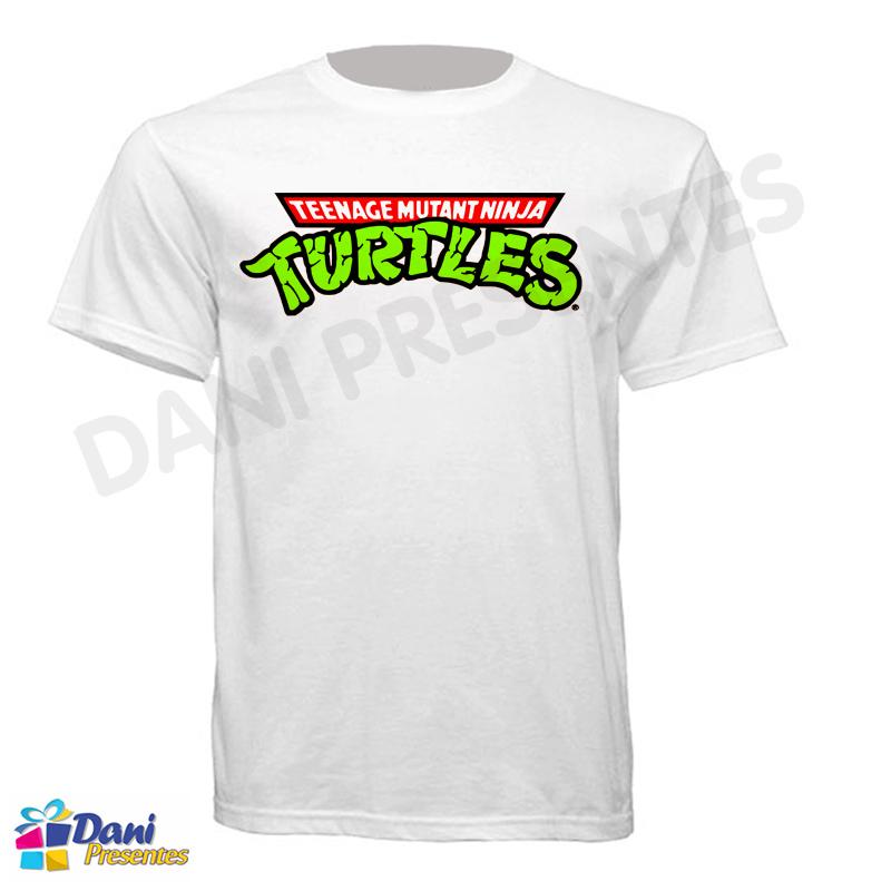 Camiseta Tartarugas Ninja Logo